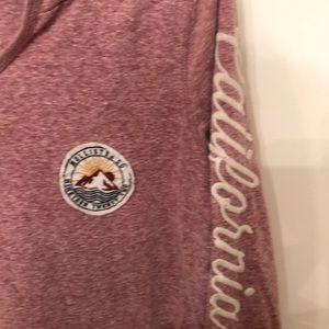 Hollister Tops - Hollister juniors large hoodie prewashed soft